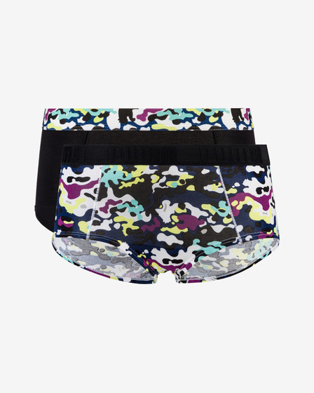 Puma Printed Mini Briefs 2 Piece