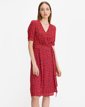 Tommy Hilfiger Floral Crepe Wrap Dress