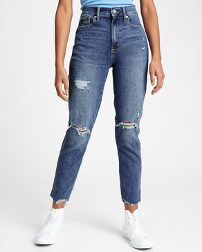 GAP Destructed Cigarette Jeans