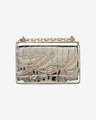 Karl Lagerfeld Signature Croco Small Handbag