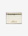 Karl Lagerfeld Signature Croco Mini Wallet