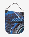Desigual Blue Friend Folded Handbag